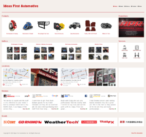 Local Shop Site